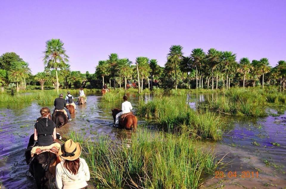 Horseriding at Posada Tupasy