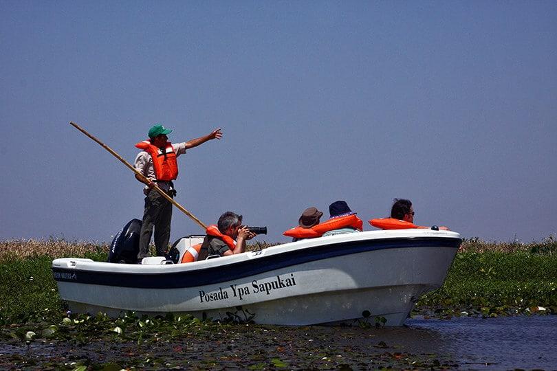 Boat Ride at Posada Ypa Sapukai