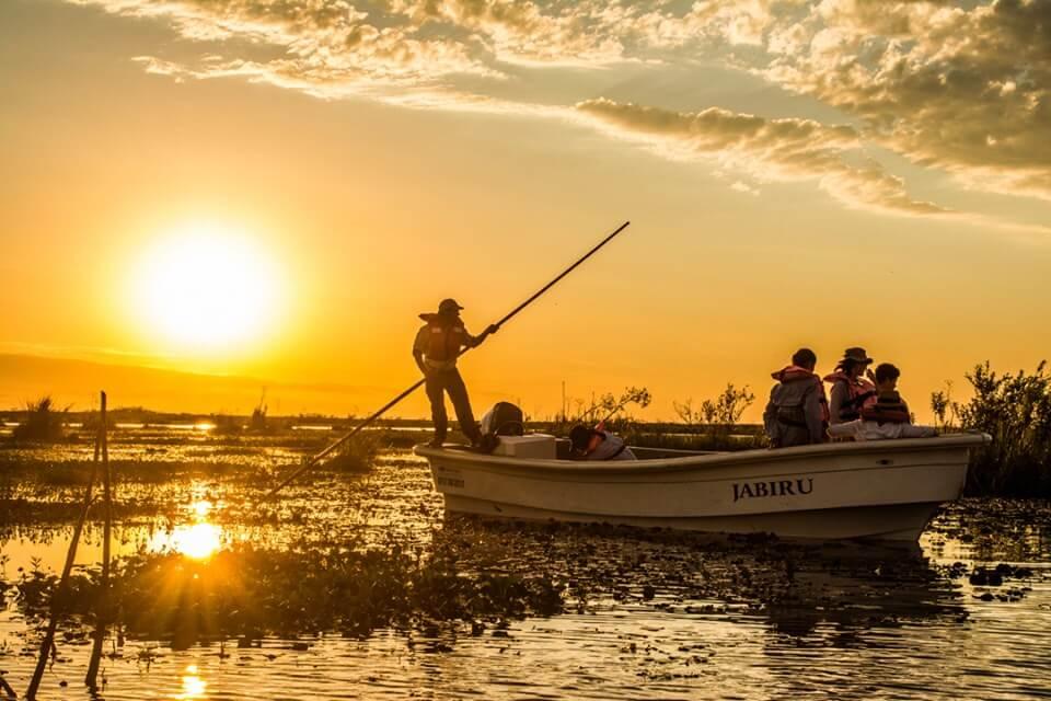 Boat Ride at Rincon del Socorro